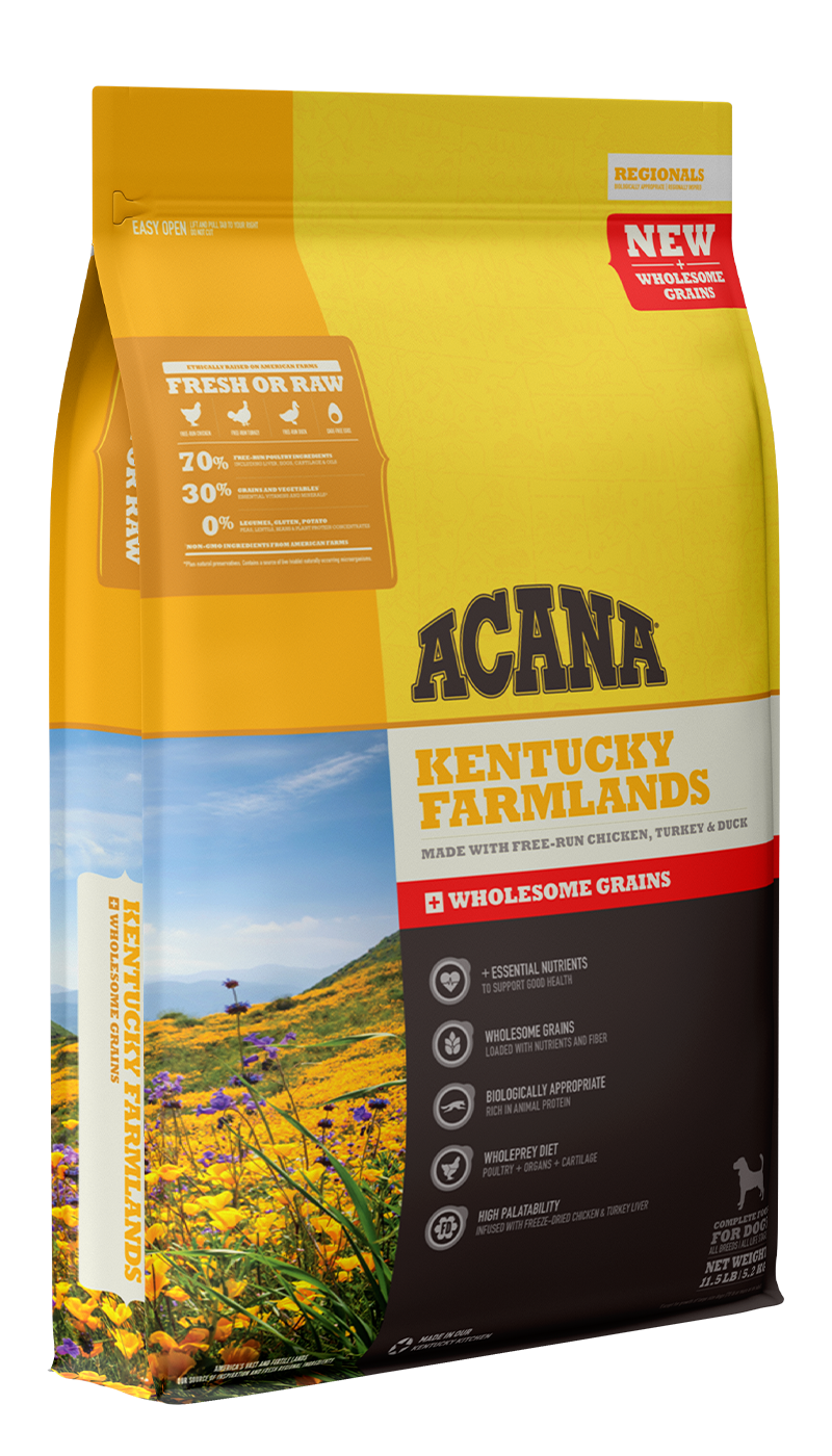 Kentucky Farmlands <br>+ Wholesome Grains