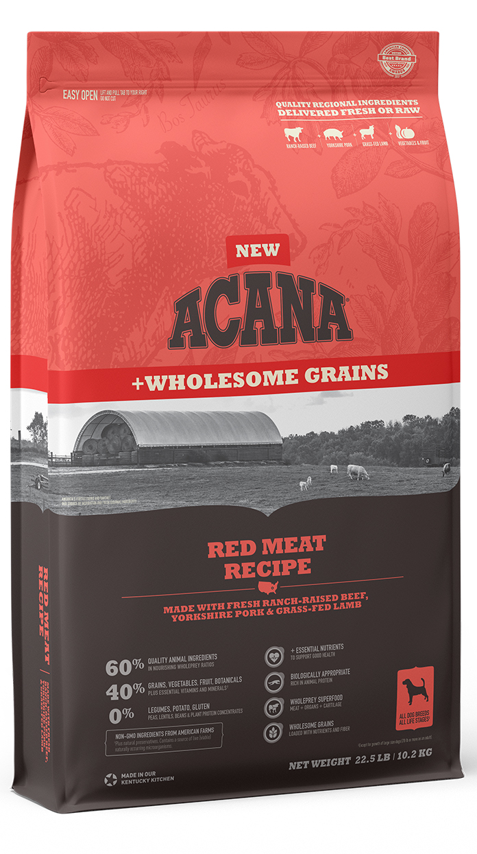 Red Meat <br>+Wholesome Grains
